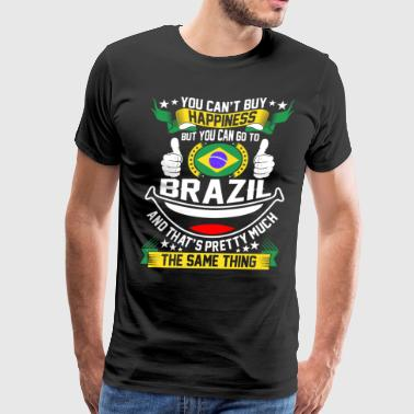 You Can Go To Brazil - Men's Premium T-Shirt