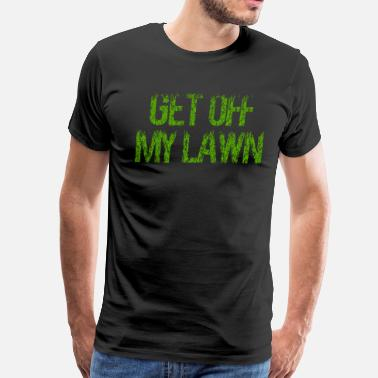 Gran Torino Get Off My Lawn - Men's Premium T-Shirt