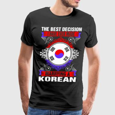 Marrying A Korean - Men's Premium T-Shirt