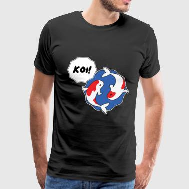Koi! - Men's Premium T-Shirt