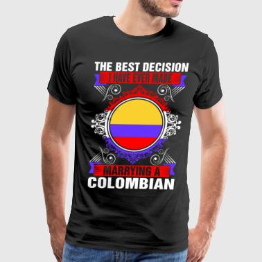 Marrying A Colombian - Men's Premium T-Shirt