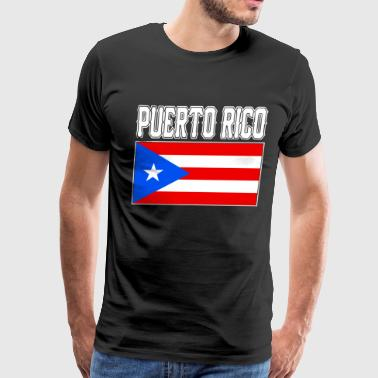 Puerto Rico Puerto Rican Country Flag Nationality - Men's Premium T-Shirt