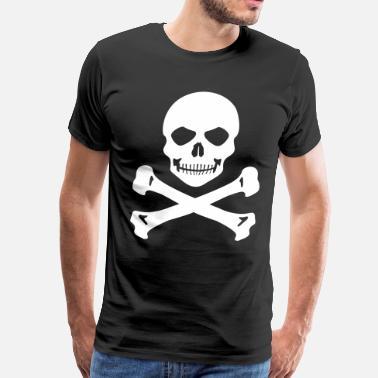 652a414e Pirate Pirate flag - Men's Premium T-Shirt