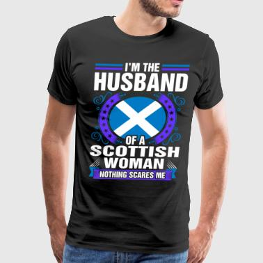 Im The Husband Of A Scottish Woman - Men's Premium T-Shirt