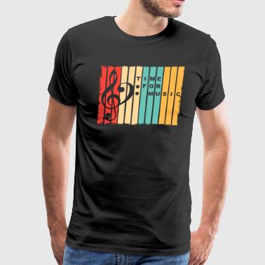 Time for Music - Men's Premium T-Shirt