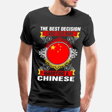 Chinese Quotes Marrying A Chinese - Men's Premium T-Shirt