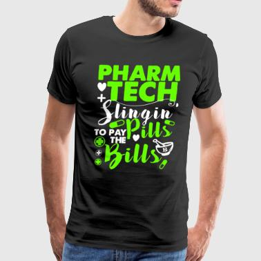 Pharmacy Technician Funny Shirt - Men's Premium T-Shirt