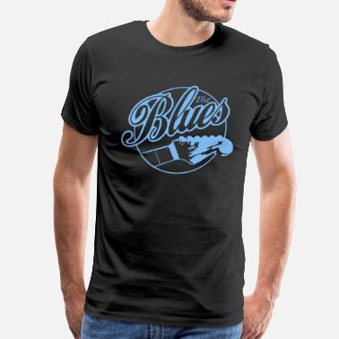 Blues The Blues Music Shirt - Men's Premium T-Shirt