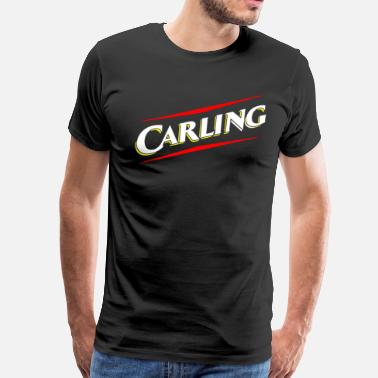 Carling Retro Carling Beer - Men's Premium T-Shirt