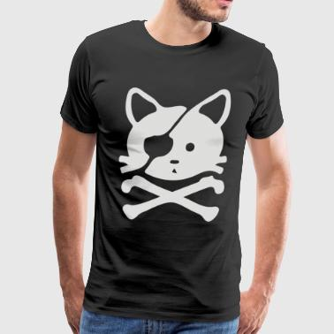 chat pirate - Men's Premium T-Shirt