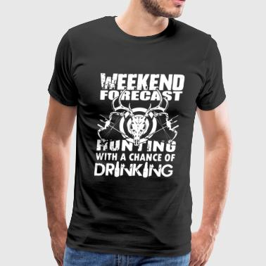 Hunting Weekend Forecast - Men's Premium T-Shirt