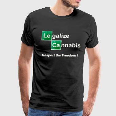 Breaking Bad  Legalize Cannabis - Men's Premium T-Shirt