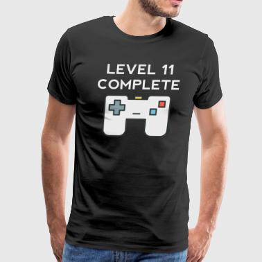 Level 11 Complete 11th Birthday - Men's Premium T-Shirt