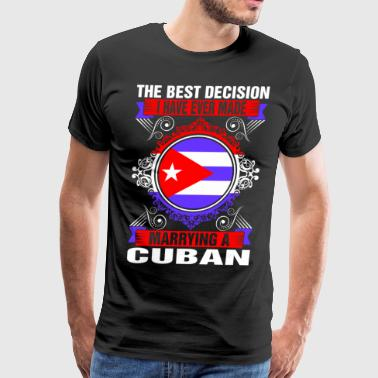 Marrying A Cuban - Men's Premium T-Shirt