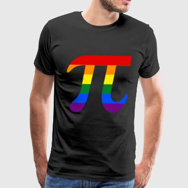Rainbow Pi - Men's Premium T-Shirt