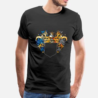 Of Arms Coat of arms - Men's Premium T-Shirt