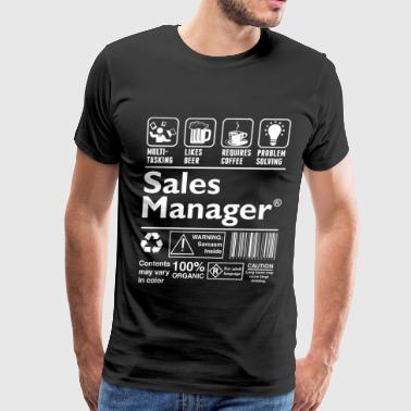 Sales Manager - Men's Premium T-Shirt