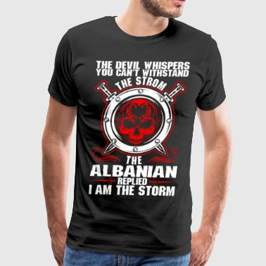 The Devil Whispers You Cant Withstand The Storm Al - Men's Premium T-Shirt