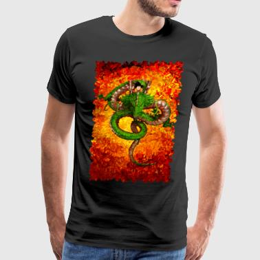 Shen long Abstract art T-shirt - Men's Premium T-Shirt