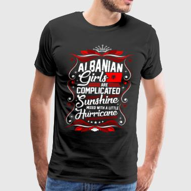 Albanian Girls Are Completed Sunshine - Men's Premium T-Shirt