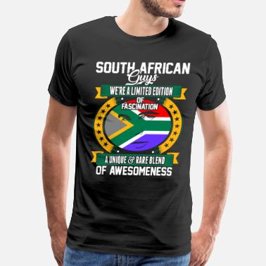 Funny South African South African Guys Of Awesomeness - Men's Premium T-Shirt