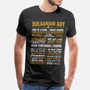 Bulgarian Guy Bulgarian Guy Great Kisser - Men's Premium T-Shirt