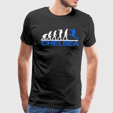 Chelsea Fc CHELSEA evolution sports football funny - Men's Premium T-Shirt