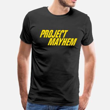 Project Project Mayhem - Fight Club - Men's Premium T-Shirt
