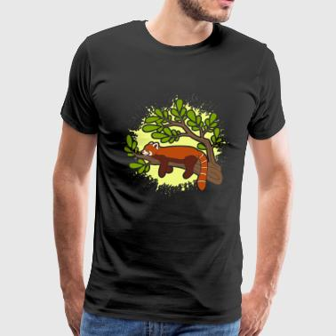 SLEEPY RED PANDA SHIRT - Men's Premium T-Shirt