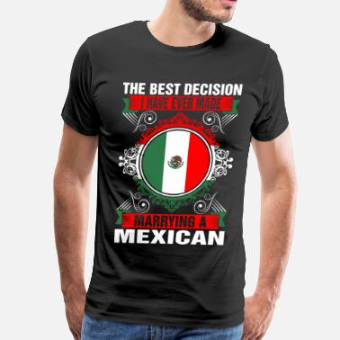 Mexican Marrying A Mexican - Men's Premium T-Shirt