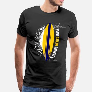 Mexico Lover Surfing Mexico Lover - Men's Premium T-Shirt