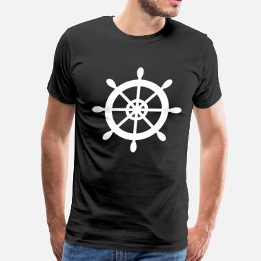 Ship Wheel Ship Wheel - Men's Premium T-Shirt