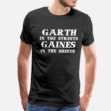 Rogers Place Garth - Men's Premium T-Shirt
