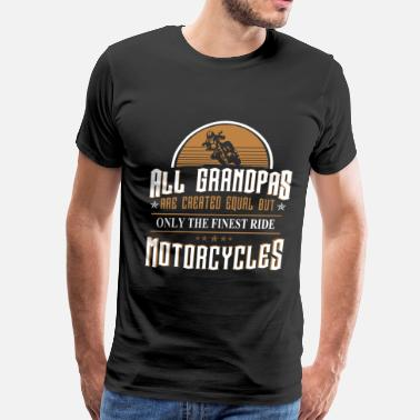 Buell Motorcycle Motorcycles - All grandpas are created equal - Men's Premium T-Shirt