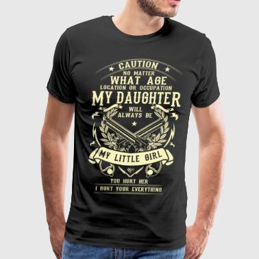 Caution No matter what age, location or occupation - Men's Premium T-Shirt