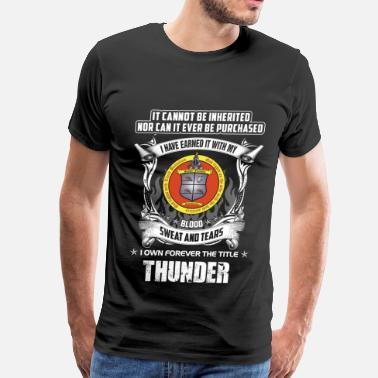 Usaf Thunderbirds Thunder - Cannot be inherited nor be purchased - Men's Premium T-Shirt
