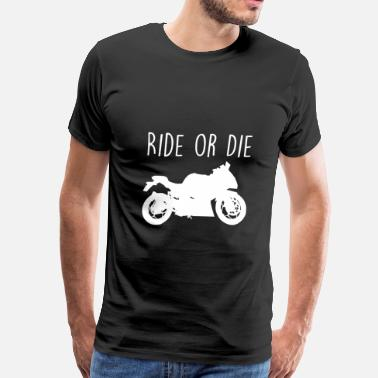 Motorcycles Motocross Motorcycle Motocross - Men's Premium T-Shirt