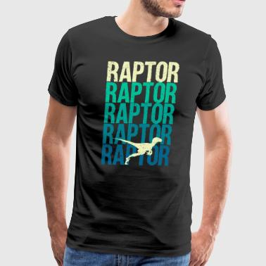 Raptor - Men's Premium T-Shirt