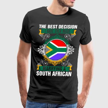 Marrying A South African - Men's Premium T-Shirt