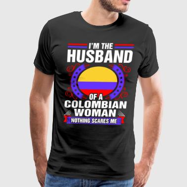 Im The Husband Of A Colombian Woman - Men's Premium T-Shirt