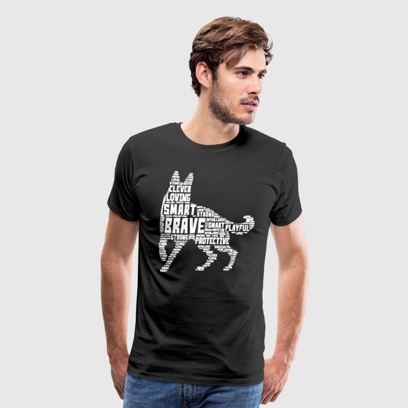 German Shepherd T shirt - Men's Premium T-Shirt
