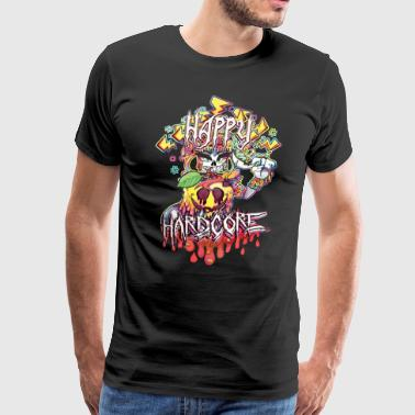 Happy Hardcore - Men's Premium T-Shirt