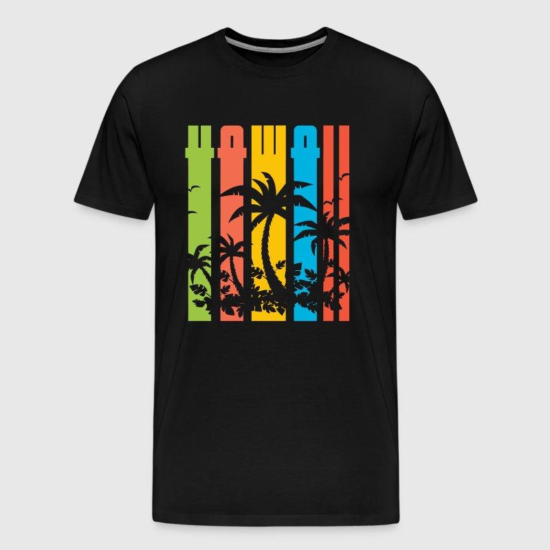 Hawaii vintage sun beach vacation gift by monsieurshirt for Hawaii souvenir t shirts