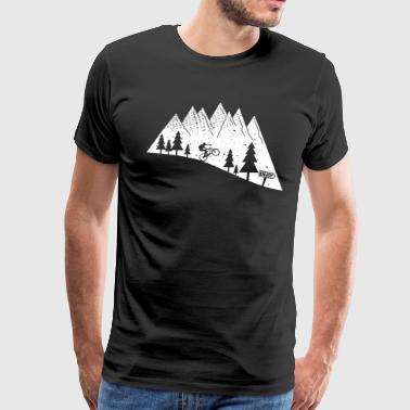 mountain bike bicycle cycling - Men's Premium T-Shirt