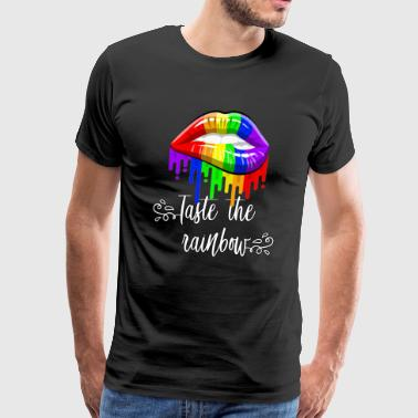 Taste the rainbow - Men's Premium T-Shirt