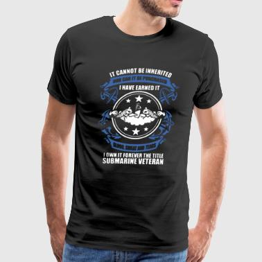 Submarine Forever Title - Men's Premium T-Shirt