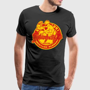 zangief wrestling - Men's Premium T-Shirt