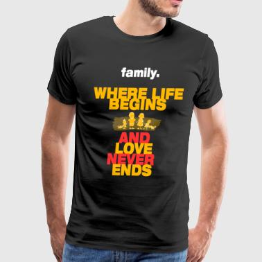 Family Care Family - Men's Premium T-Shirt