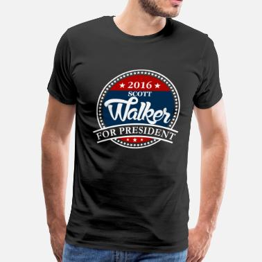 Scott Walker Scott Walker 2016 - Men's Premium T-Shirt