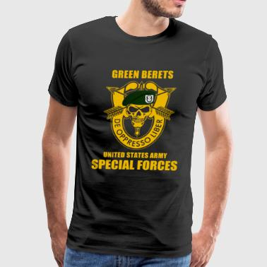SPECIAL FORCES GROUP AIRBORNE MILITARY - Men's Premium T-Shirt